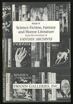 Science Fiction, Fantasy and Horror Literature From