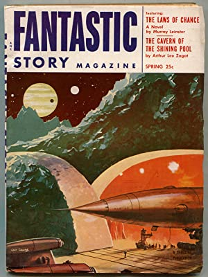 Pulp magazine]: Fantastic Stories Magazine -- Vol.: FINLAY, Virgil, Jack