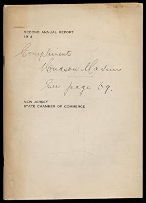 Second Annual Report 1914. New Jersey State Chamber of Commerce