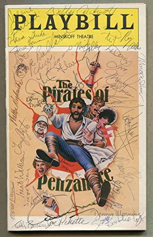 Playbill]: The Pirates of Penzance: GILBERT, W.S. and