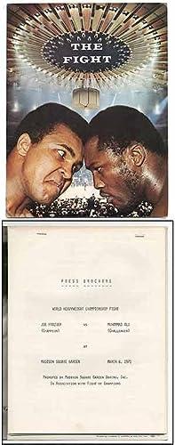 Press Brochure]: World Heavyweight Championship Fight. Joe: ALI, Muhammad and