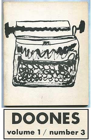 Doones -- Volume 1, Number 3: TRANSTROMER, Tomas, Robert