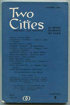 Two Cities -- 9 (Autumn 1964): DURRELL, Lawrence, Michel