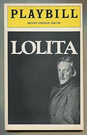 Playbill]: Lolita: ALBEE, Edward