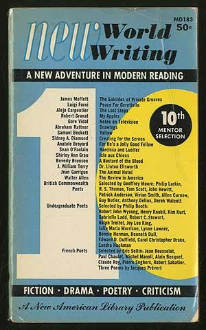 New World Writing: Tenth Mentor Selection: VIDAL, Gore, Samuel