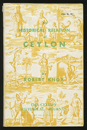 An Historical Relation of Ceylon: KNOX, Robert