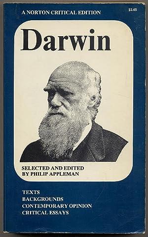 Charles] Darwin: A Norton Critical Edition: Philip Appleman, edited
