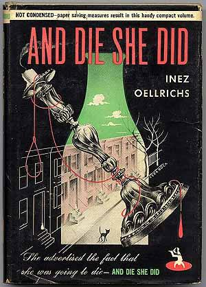 And Die She Did: OELLRICHS, Inez