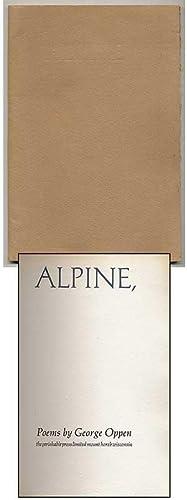 Alpine: OPPEN, George
