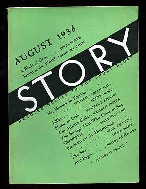 Story: The Magazine of the Short Story,: STEGNER, Wallace E.,