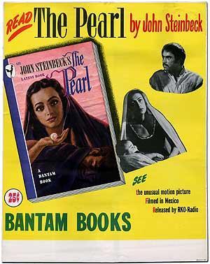 The Pearl: Originial Poster for the Bantam: STEINBECK, John
