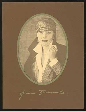 A Festschrift for Djuna Barnes on Her: BARNES, Djuna, David