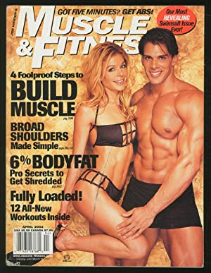 Muscle & Fitness: April 2002, Vol. 63,: WEIDER, Joe