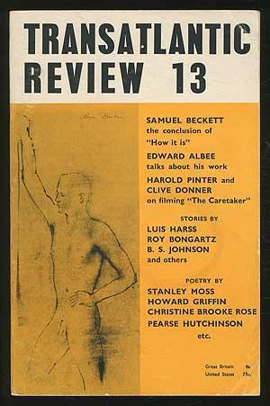 Transatlantic Review 13: Summer 1963: McCRINDLE, J.F., edited