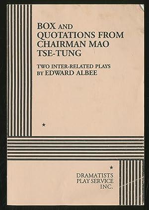 Box and Quotations from Chairman Mao Tse-Tung: ALBEE, Edward