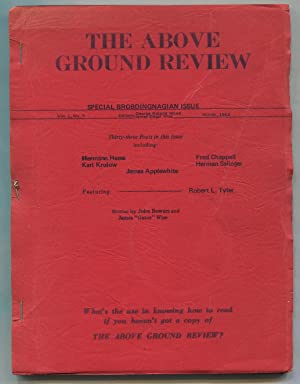 The Above Ground Review -- Vol. 1,: HESSE, Herman, Ann