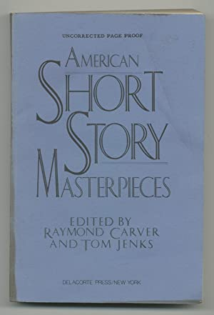 American Short Story Masterpieces: CARVER, Raymond and