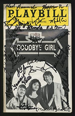Playbill]: The Goodbye Girl: SIMON, Neil, Marvin