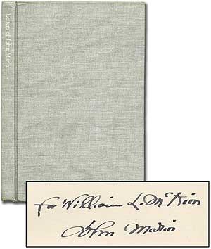 Letters of John Marin: MARIN, John