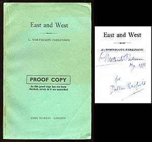 East and West: PARKINSON, C. Northcote