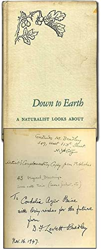 Down to Earth: A Naturalist Looks About
