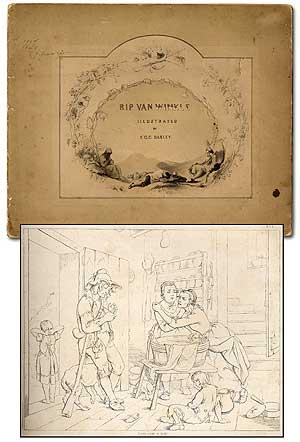Illustrations of Rip Van Winkle Designed and: DARLEY, Felix O.C.