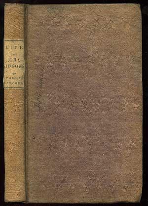 Life of Mrs. Siddons: CAMPBELL, Thomas