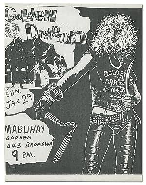 Punk Flyer]: Mabuhay Gardens Flyer: Golden Dragon