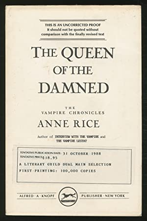 The Queen of the Damned: RICE, Anne