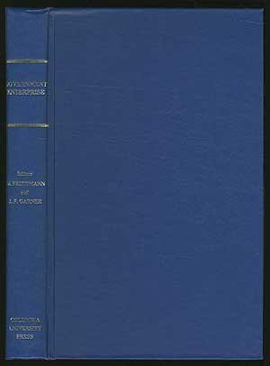 Government EnTERPRISE: A COMPARATIVE STUDY: Friedmann, W.G. and J.F. Garner, edited by