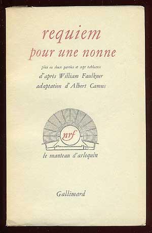 Requiem pour une nonne [Requiem for a: FAULKNER, William, adaptation