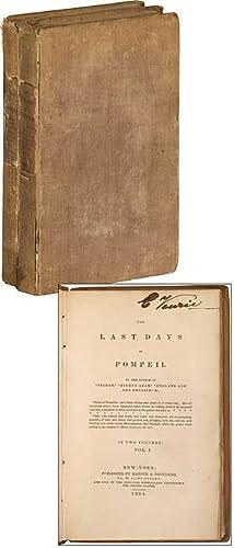The Last Days of Pompeii: BULWER-LYTTON, Edward