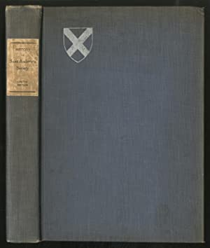 History of Saint ANDREW'S SOCIETY OF THE STATE OF NEW YORK, 1756-1906