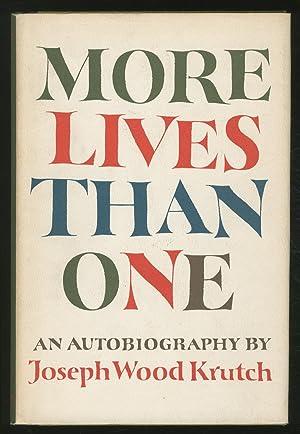 More Lives Than One: KRUTCH, Joseph Wood