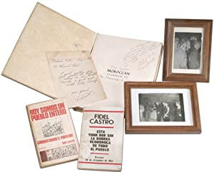 Small Collection of Signed and Inscribed Books: CASTRO, Fidel