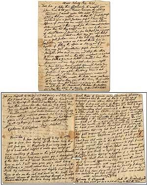 Three-Page Autograph Letter Signed from Xenia, Ohio discussing Andrew Jackson and Xenia