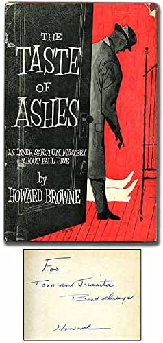 The Taste of Ashes: BROWNE, Howard