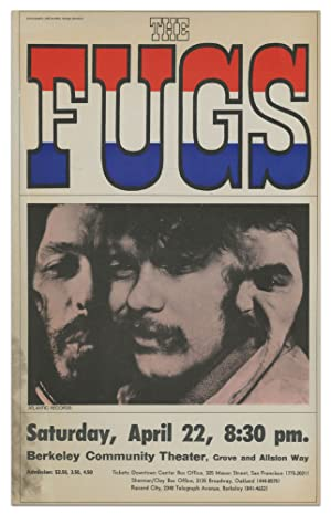[Broadside]: The Fugs, Saturday, April 22, 8:30 pm.