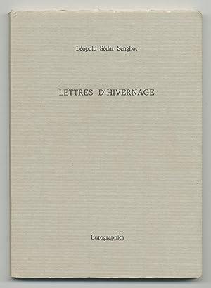Lettres D'Hivernage: SENGHOR, Leopold Sedar