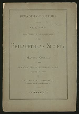 Political Changes. An Address delivered to the graduates of the Philalethean Society, of Hanover ...