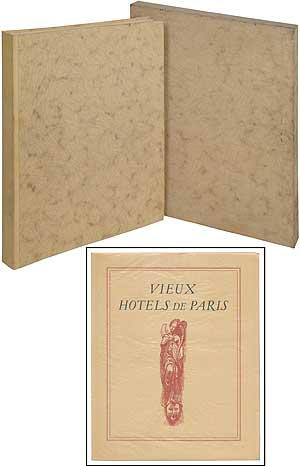 Vieux Hotels de Paris (24 dry-point etchings: GOSSET, Leon (Omer