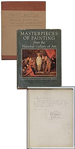Masterpieces of Painting from the National Gallery of Art [Two copies: One Inscribed copy of the ...