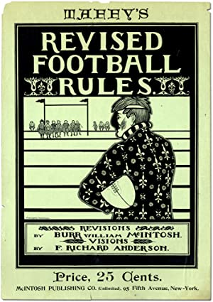 [Broadside or poster]: Taffy's Revised Football Rules