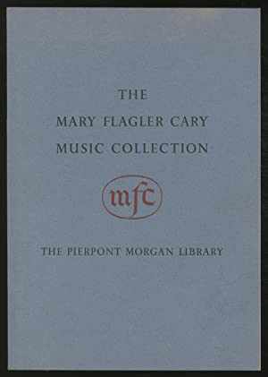 The Mary Flagler Cary Music Collection: Printed