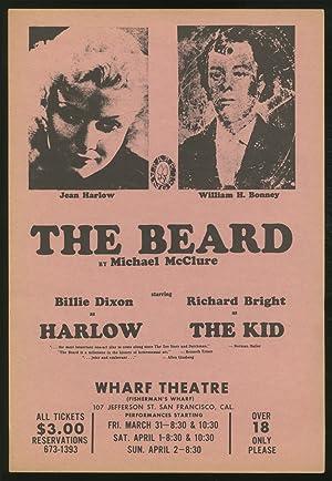 Broadside]: The Beard: McCLURE, Michael (MAILER,