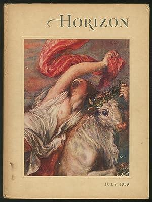 Horizon: A Magazine of the Arts Volume: THORNDIKE, Joseph J.,