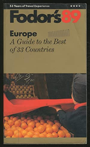 Fodor's 89: Europe: CONNOLLY, Sean