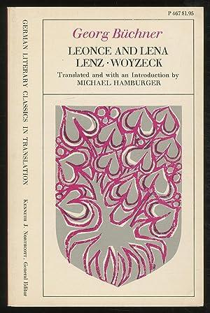 Leonce and Lena Lenz Woyzeck: BUCHNER, Georg