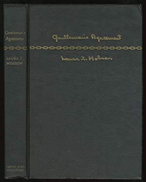 Gentleman's Agreement: HOBSON, Laura Z.