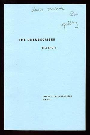 The Unsubscriber: KNOTT, Bill